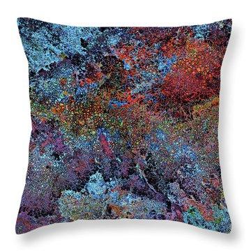 Galaxy Bellevue Plateau Throw Pillow