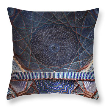 Throw Pillow featuring the photograph Galaxy Under The Dome by Awais Yaqub