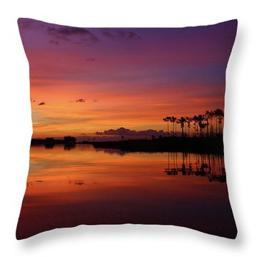 Gale Creek Throw Pillow by Marty Fancy