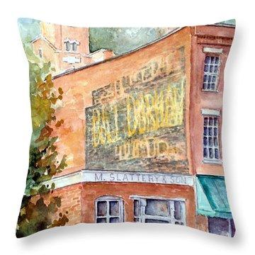 Galena 9 21 15 Throw Pillow