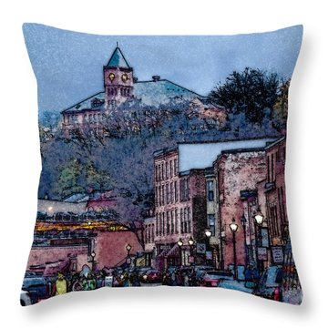 Galena Illinois Throw Pillow
