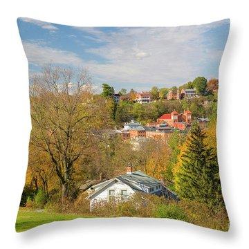 Galena Illinois Usa Throw Pillow