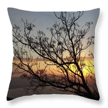 Galilee Sunset Throw Pillow