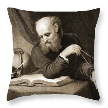 Theorist Throw Pillows