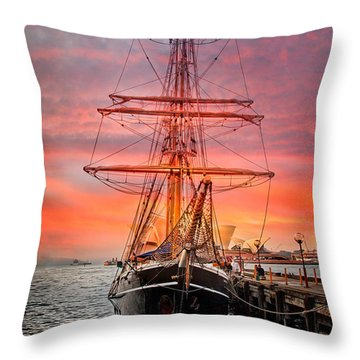 Galleano's Quest Throw Pillow