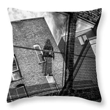 Gallery Noir Throw Pillow