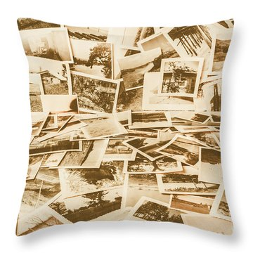 Gallery Of Old Landscape And Antique Places Throw Pillow