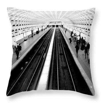 Gallery Place Metro Throw Pillow