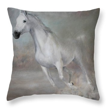 Gallop Throw Pillow