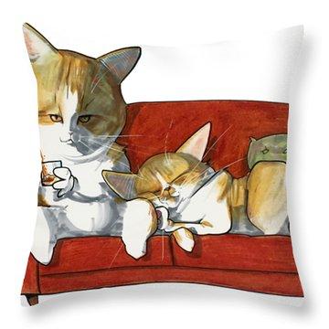 Galmiche 3258 Throw Pillow
