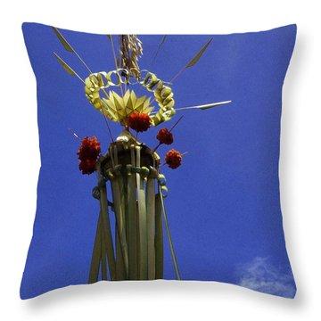 Galungan ... Throw Pillow by Juergen Weiss