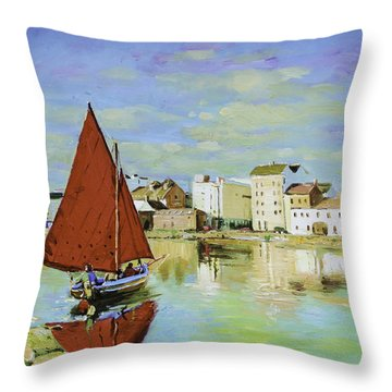 Galway Hooker Throw Pillows