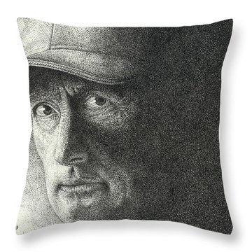 Game Face Throw Pillow