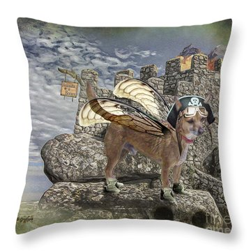 Game Of Bones Throw Pillow