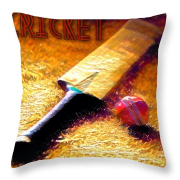 Game On Throw Pillow by Maria Watt