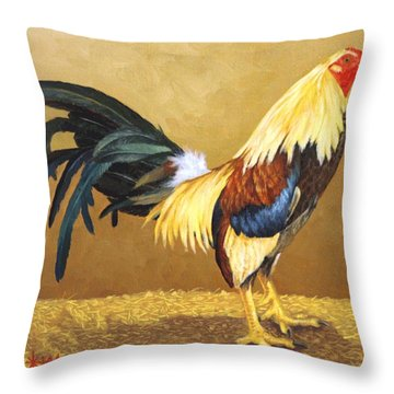 Gamecock Throw Pillow