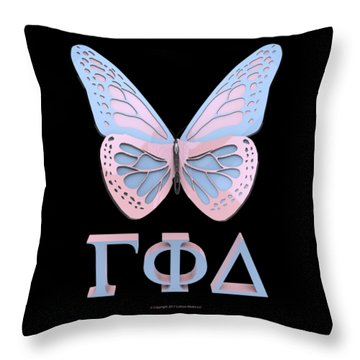 Gamma Phi Delta Throw Pillow