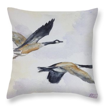 Gander Throw Pillow