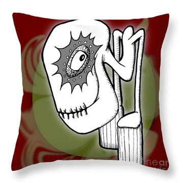 Ganix Throw Pillow