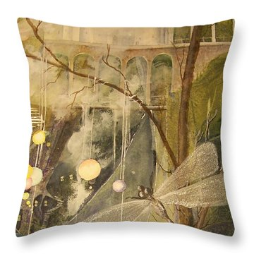 Ganth IIi Throw Pillow by Jackie Mueller-Jones