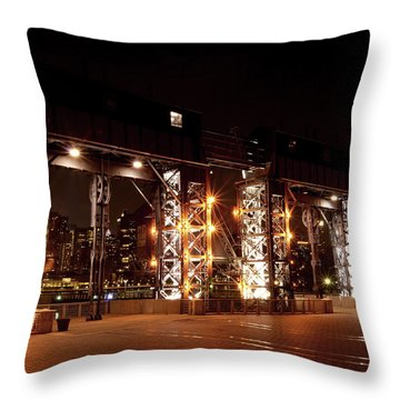 Gantry Nights Throw Pillow