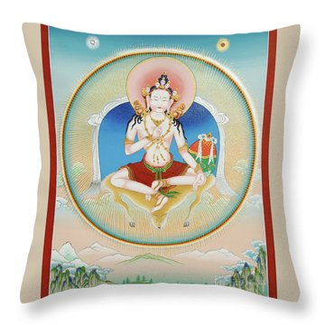Garab Dorje Throw Pillow