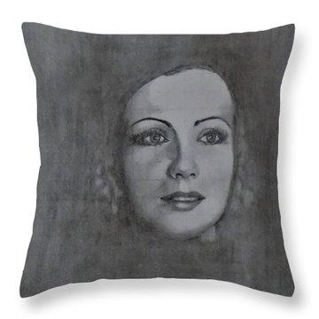 Garbo Throw Pillow