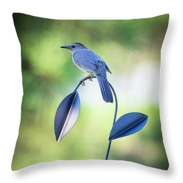 Garden Art Throw Pillow