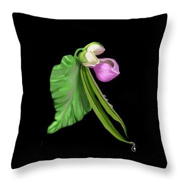 Garden Bean Throw Pillow