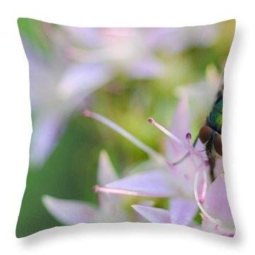 Garden Brunch Throw Pillow