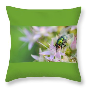 Garden Brunch Throw Pillow