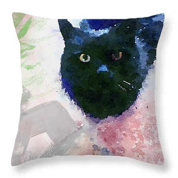 Kitties Throw Pillows