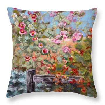 Garden Companion Throw Pillow by Julie Maas