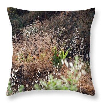 Garden Contre Jour Throw Pillow