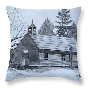 Garden Creek Baptist Church  Throw Pillow