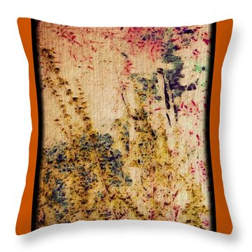 Garden Dreams Throw Pillow by William Wyckoff