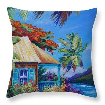 Kalalau Trail Throw Pillows