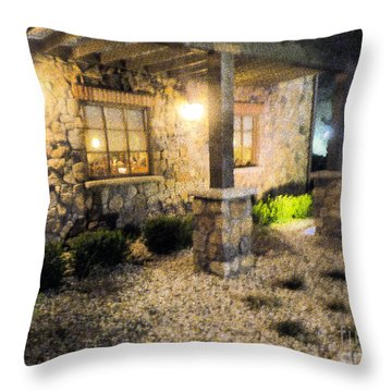 Throw Pillow featuring the photograph Garden by Janelle Dey