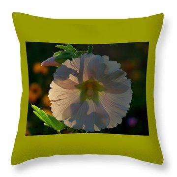 Garden Magic Throw Pillow by Marika Evanson
