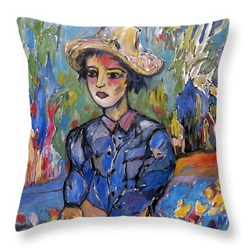 garden moment II Throw Pillow