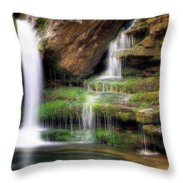 Garden Of Eden Throw Pillow by Tamyra Ayles