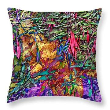 Garden Of Forgiveness Throw Pillow by Kurt Van Wagner