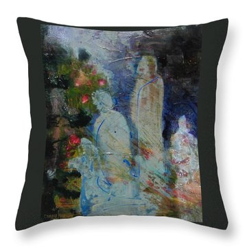 Garden Of Good And Evil Throw Pillow