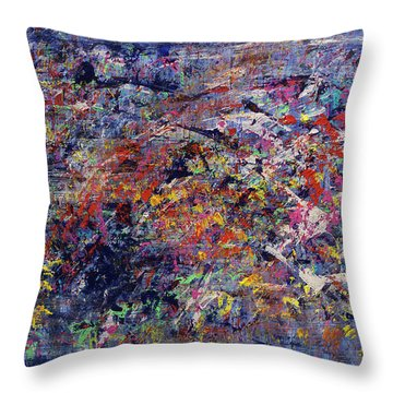 Garden Of Life Throw Pillow