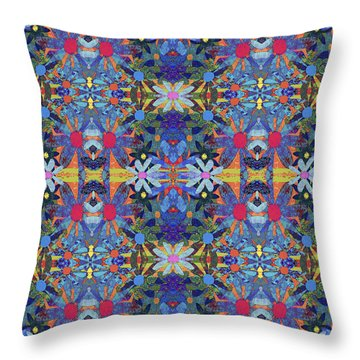 Garden Of Love Throw Pillow