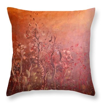 Garden Of The Sacred Fire Artbox Project 1 Basel Throw Pillow
