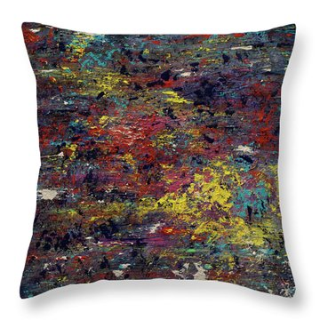 Garden Of The Soul  Throw Pillow