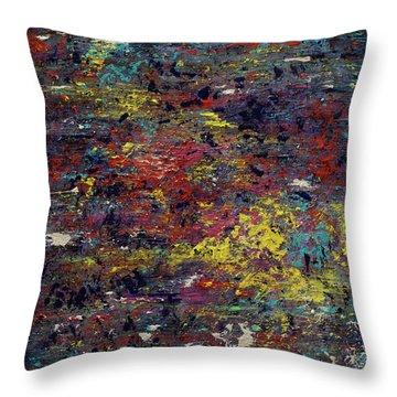 Garden Of The Soul  Throw Pillow