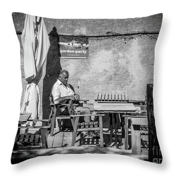 Garden-party Throw Pillow