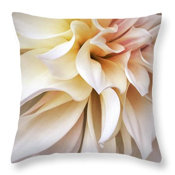 Garden Queen 1 Throw Pillow
